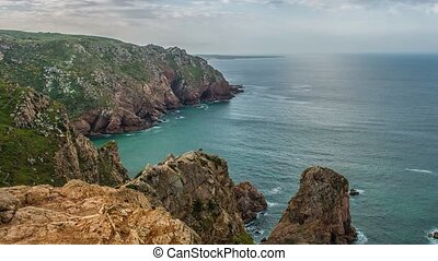 """roca"""", """"cape, continental, formes, westernmost, europe., ..."""