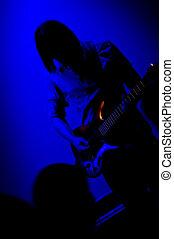 roca, guitarrista