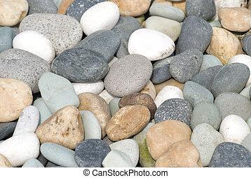 rocas, y, piedras