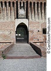 Roccabianca Castle. Emilia-Romagna.