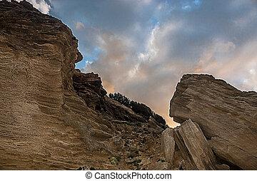 rocce - Rocce di  Arenaria