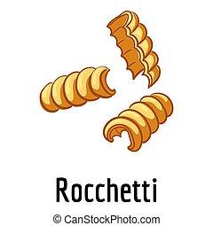 Rocchetti icon, cartoon style