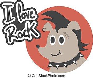 roccia, amore, simbolo