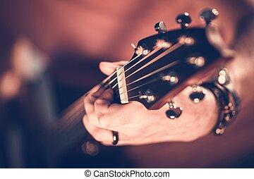 rocha, jogador violão