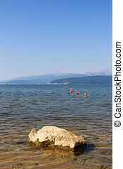 rocha, lago, prespa, macedonia