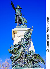 rochambeau, dc, 紀念碑, 華盛頓