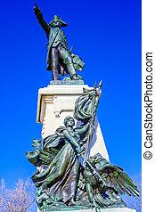 Rochambeau Monument,  Washington DC