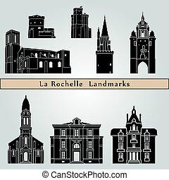 rochelle, la, wahrzeichen, denkmäler