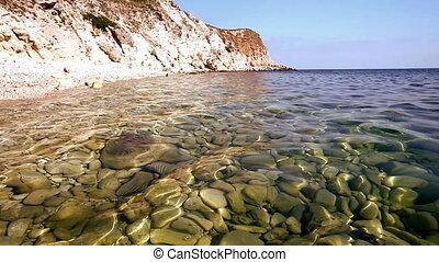rocher, mer, rivage