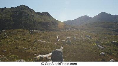 rochers, paysage, montagnes