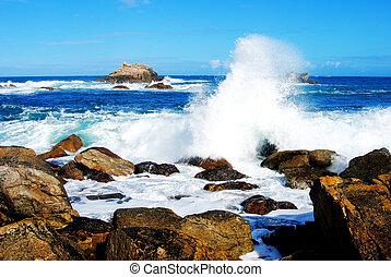 rociar, océano