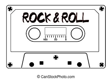 Rock And Roll Music Tape Cassette