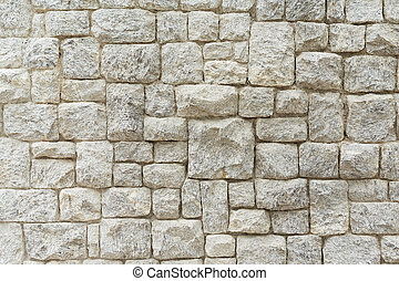 Rock and stone wall texture