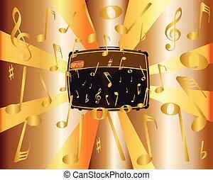 Rock Band Amlifier Musical Noise