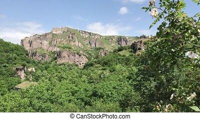 Rock caves of Khndzoresk, Armenia