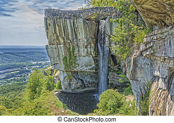 Rock City Lookout Mountain In Georgia - LOOKOUT MOUNTAIN,...