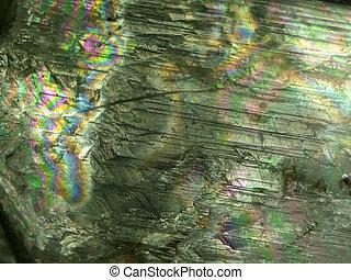 rock crystal, gemstone with pleochrism