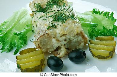 rock fish baked