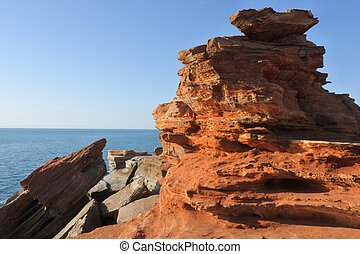 Gantheaume point in Broome Kimberley Western Australia