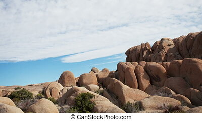 rock formation in joshua tree national park, california, usa