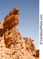 Rock Formation in Valley of Fire