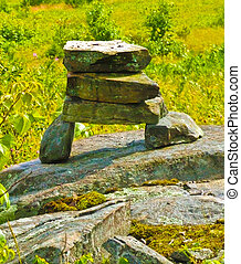 Rock Formation - Rock formation setup as a marker