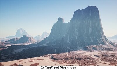 Rock Formations in the Nevada Desert - rock formations in ...