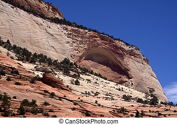Rock Formations Zion National Park