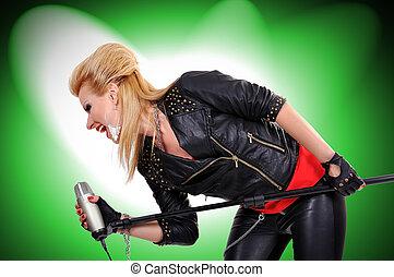 rock girl singer