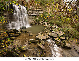 Rock Glen Falls - The Waterfall at Rock Glen Conservation ...