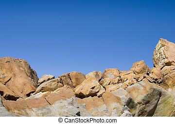 Rock Horizon - A horizon of jagged rocks.