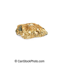 Rock isolate on white background