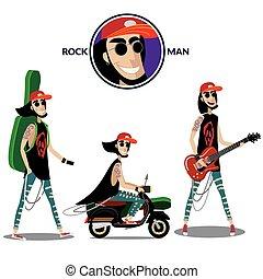 Rock man set