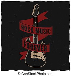 Rock Music Forever Poster