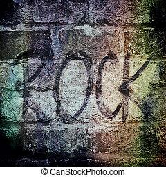 Rock music word