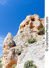 rock near San Pedro de Arlanza Monastery, Castile and Leon, Spain