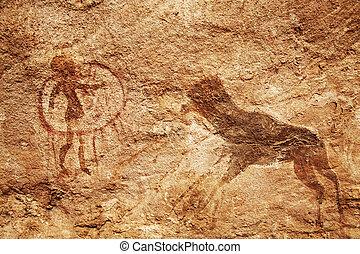 Rock paintings of Tassili N'Ajjer, Algeria