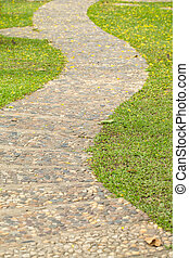 rock path road