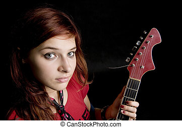Rock performer