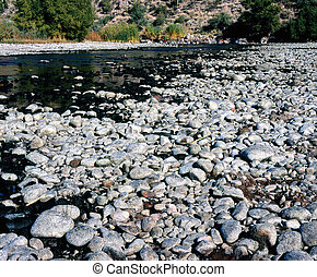 Salt river Dry and rocky river bed