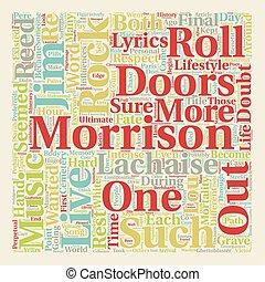 Rock Roll Surrogate text background wordcloud concept