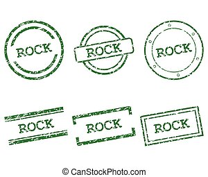 Rock stamps