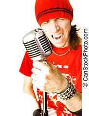 Rock Star - Performing Rock Star Singer