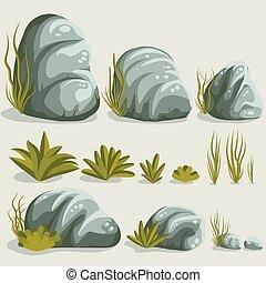 Rock stone set