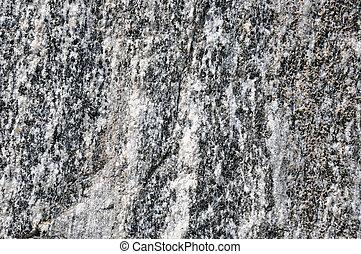 Rock the Granite in a rock quarry