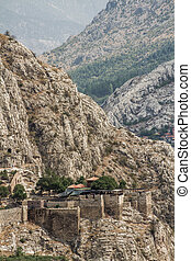 Rock Tombs in Amasya, Turkey