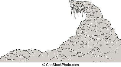 rock zone illustration