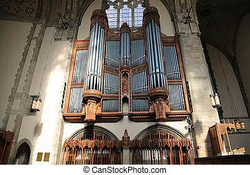 Rockefeller Memorial Chapel Organ