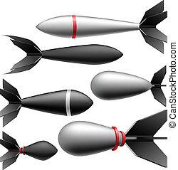 Rocket bomb set