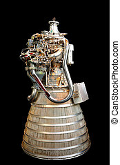 Rocket Engine - Early Hydrogen and Oxygen designed rocket...